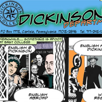 Dickinson College Dept. of English website design