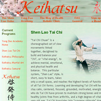 Keihatsu website design