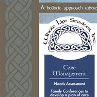 Whole Life Service website design